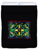 Stained Glass 1 Duvet Cover