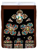 Stained Glass Glory Duvet Cover