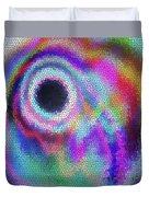 Stained Glass Morph #107 Duvet Cover
