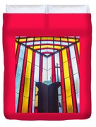 Stained Glass Reminder Duvet Cover