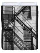 Stair Shadows Duvet Cover