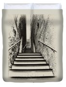 Stairs At Harpers Ferry Duvet Cover