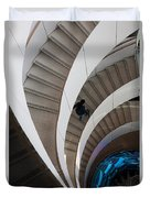 Stairs  Bruininks Hall University Of Minnesota Campus Duvet Cover