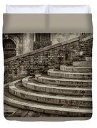Stairs To Canal Bridge Venice_dsc1637_03012017  Duvet Cover