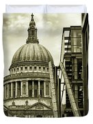 Stairs To St Pauls Duvet Cover