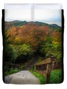 Stairs To The Graveyard Duvet Cover