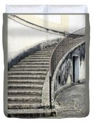 Stairs To Underground Duvet Cover