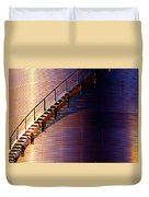 Stairway Abstraction Duvet Cover