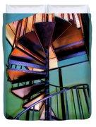 Stairway Bright Duvet Cover