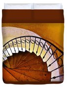 Stairway In Cabo Duvet Cover