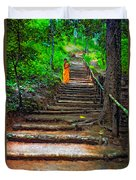 Stairway To Heaven Impasto Duvet Cover