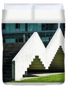 Stairway To Higher Learning Duvet Cover