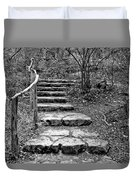 Stairway To Nature Duvet Cover