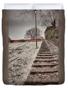 Stairway To Spring Duvet Cover