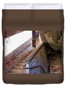 Stairway To Yesterday Duvet Cover