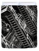 Stairwell Hell Duvet Cover