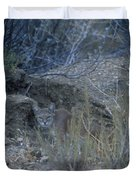 Stalked - Mountain Lion Duvet Cover