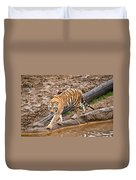 Stalking Tiger - Bengal Duvet Cover