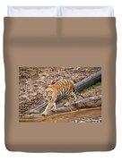 Stalking Tiger - Bengal Duvet Cover