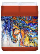 Stallion Southwest By M Baldwin Duvet Cover