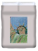 Stampue Of Liberty Duvet Cover