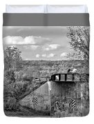 Stand By Me - Paint Bw Duvet Cover