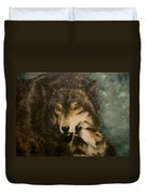 Stand By Me - Wolves Duvet Cover