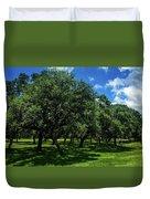 Stand Of Oaks Duvet Cover