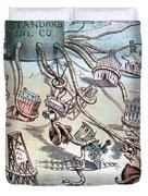 Standard Oil Cartoon Duvet Cover