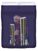 Standards For Hypertension, Illustration Duvet Cover