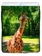 Standing Above The Rest Duvet Cover