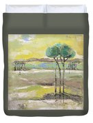 Standing In Distance Duvet Cover