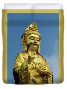 Standing Budda Duvet Cover