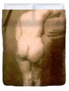 Standing Nude 1876 Duvet Cover