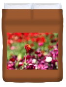 Standing Out Above The Crowd Duvet Cover