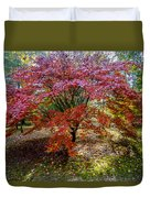 Standing Out From The Crowd Duvet Cover