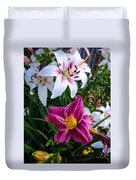 Standing Out In A Crowd Duvet Cover