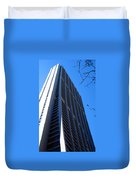 Standing Tall Chicago Duvet Cover