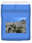 Standing Tall - The Bicaz Gorge Duvet Cover