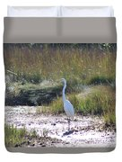 Standing There Duvet Cover