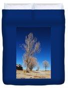 Standing Tree  Despite Duvet Cover