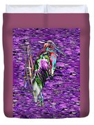 Standing Watch Duvet Cover