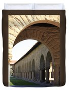 Stanford Memorial Court Arches I Duvet Cover
