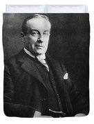 Stanley Baldwin, English Politician Duvet Cover by Photo Researchers