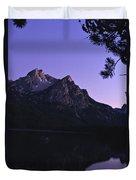 Stanley Lake, Id Duvet Cover