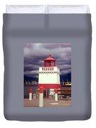 Stanley Park Lighthouse Duvet Cover