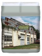 Stans Motor Service Garage Duvet Cover
