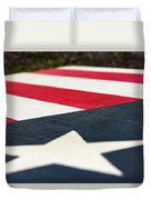 Star And Stripes Duvet Cover