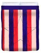 Star And Stripes Duvet Cover