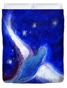 Star Bird Duvet Cover